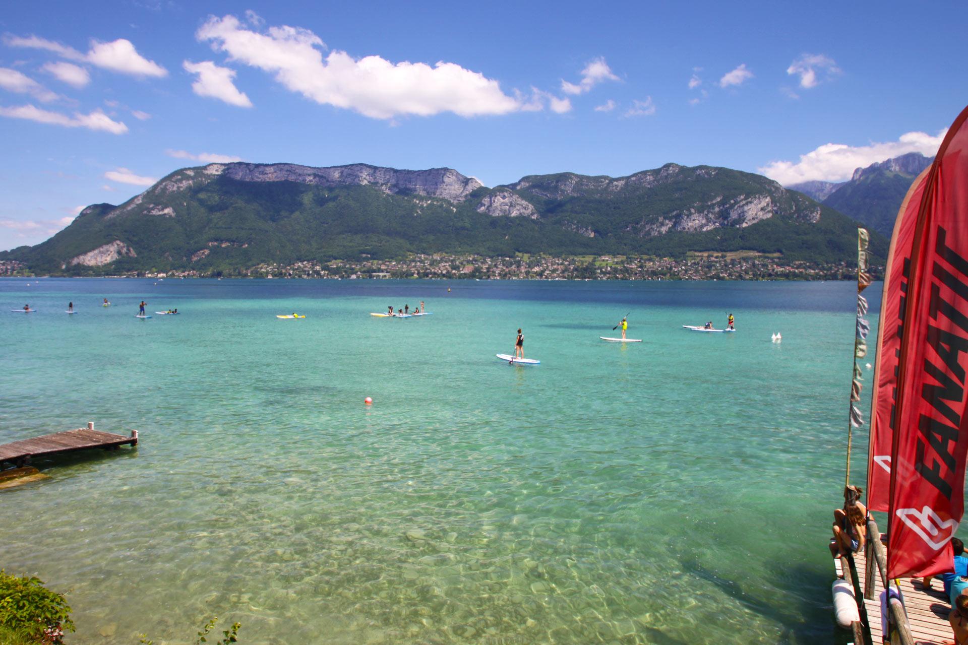 Stand Up Annecy Com Location De Stand Up Paddle Sur Le